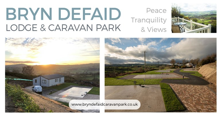 New development on Bryn Defaid Holiday Park