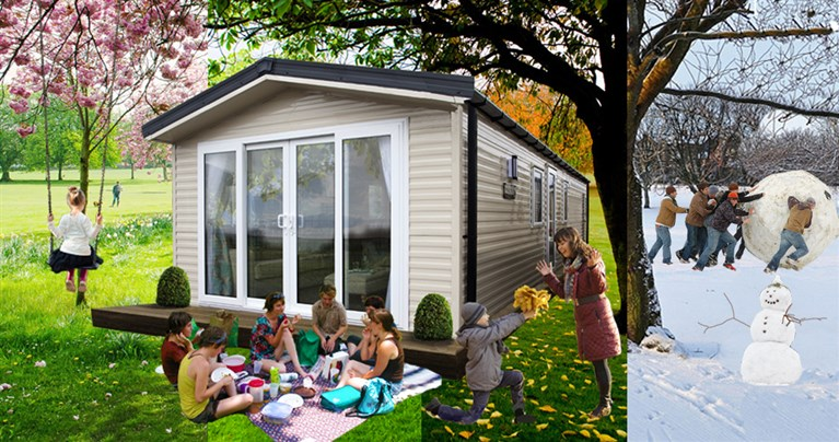 Caravan parks with long holiday season and plots available now