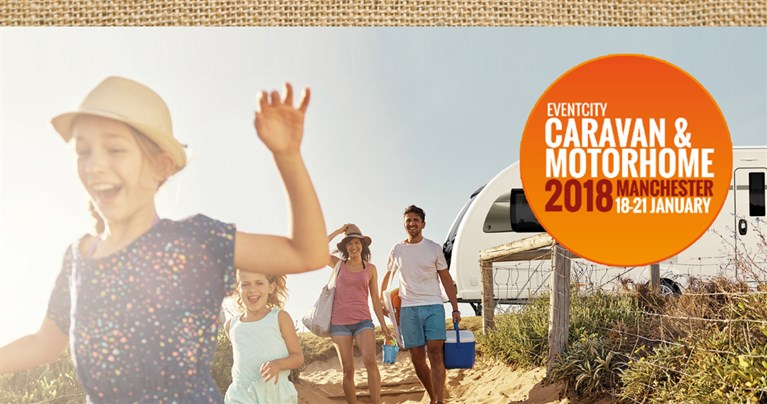 Just 1 Week to Go Until The 2018 Caravan and Motorhome Show at Event City!