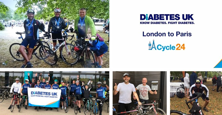 Our Managing Director Gareth Townsend takes on the Paris 24 Challenge to raise money for Diabetes UK