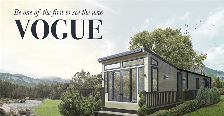 The 2020 Willerby Vogue Classique now available to view at Lloyds Caravan & Lodge Sales in Towyn