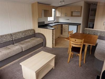 Pre Owned 2012 Swift Burgundy Static Caravan