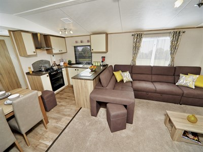 2019 Carnaby Oakdale Centre Lounge Static Caravan Holiday Home