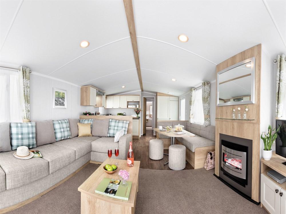 2019 Swift Burgundy Static Caravan Holiday Home