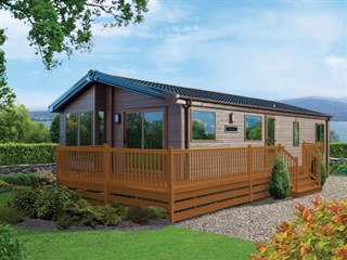 2018 Willerby Portland Lodge exterior