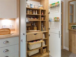2018 Willerby Portland Lodge pantry