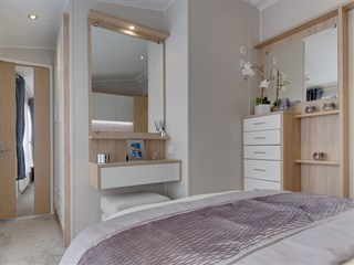 2018 Willerby Linear Main Bedroom
