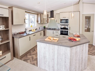 2018 Atlas Lilac Lodge Holiday Home - kitchen
