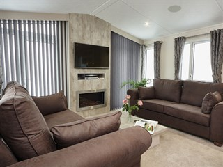 2018 Carnaby Envoy Static Caravan Holiday Home - lounge
