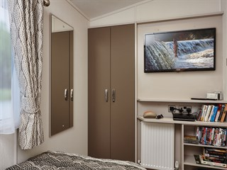 2018 Carnaby Envoy Static Caravan Holiday Home - bedroom detail