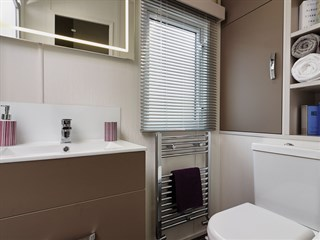 2018 Carnaby Envoy Static Caravan Holiday Home - bathroom