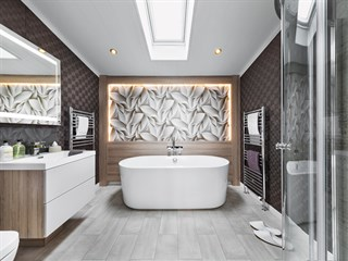 2018 Swift Whistler Lodge Bathroom