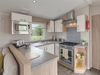 2019 Willerby Sierra static caravan holiday home kitchen