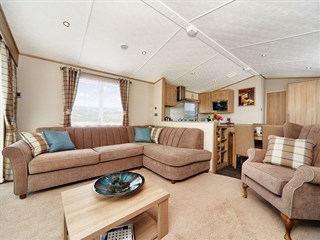 2019 Carnaby Helmsley Lodge Static Caravan Holiday Home lounge