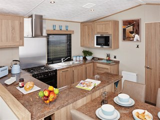 2019 Carnaby Helmsley Lodge Static Caravan Holiday Home kitchen