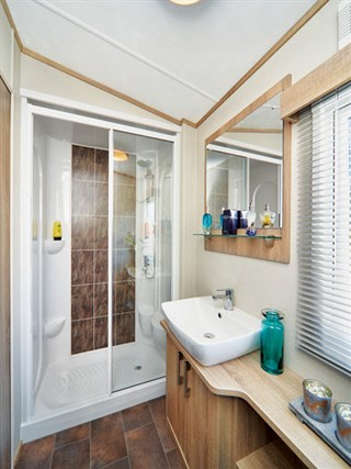 2019 Carnaby Helmsley Lodge Static Caravan Holiday Home shower room