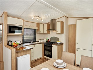 2019 Carnaby Oakdale Static Caravan Holiday Home kitchen