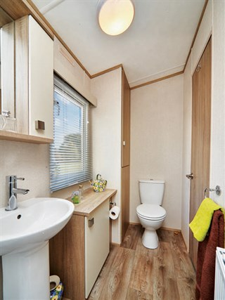 2019 Carnaby Oakdale Static Caravan Holiday Home shower room