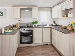 2019 Swift Snowdonia Static Caravan Holiday Home kitchen
