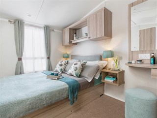 2019 Swift Snowdonia Static Caravan Holiday Home main bedroom