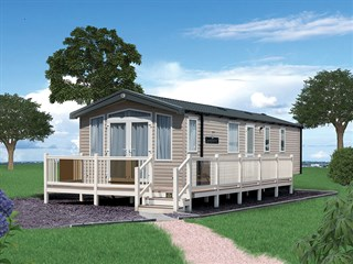 2021 Swift Bordeaux Static Caravan Holiday Home exterior