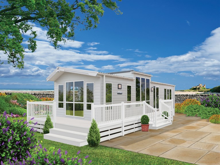 New 2018 Willerby Linear 40 x 13 feet 2 Bedrooms (Sleeps 4/6)