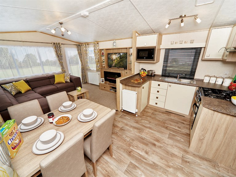2019 Carnaby Oakdale Static Caravan Holiday Home overview