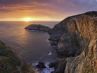 South stack is a short drive from Bagnol Caravan Park, Anglesey