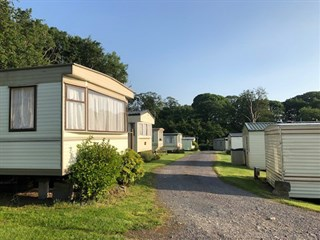 Beautiful views at Tyn Y Coed Caravan Park, Caernarfon