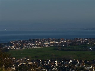 Views over Llandudno coast and Tandderwen
