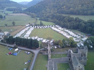 Abbey Farm Caravan Park - Views from above