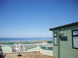 Caerddaniel Caravan Park sea views