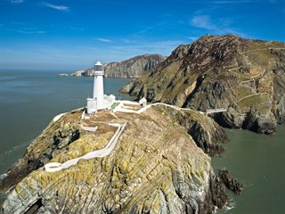 Visit attractions like the South Stack Lighthouse in Anglesey