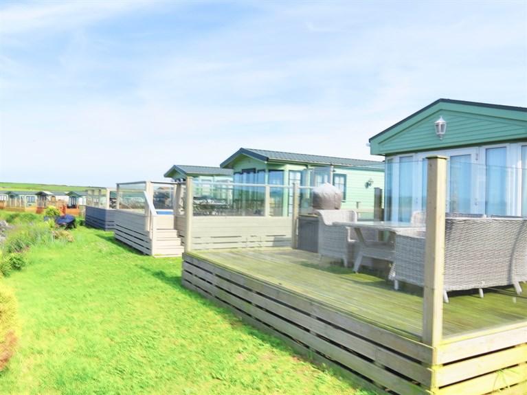 Sandy Beach Caravan Park, Llanfwrog Anglesey