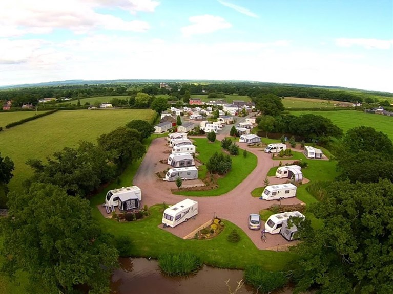 The Trotting Mare Caravan Park (Overton - on - Dee, Wrexham)
