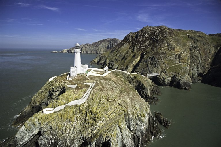 South Stack Lighthouse Ynys Lawd Isle of Anglesey