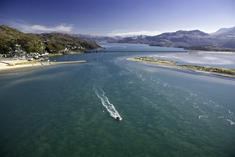 Barmouth and Mawddach estuary