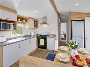 2019 Swift Ardennes Static Caravan Holiday Home exterior